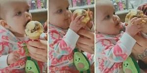 İlk Kez Dondurma Yiyen Ufaklığın Kendinden Geçtiği Efsane Anlar!