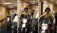 Kanser Tedavisi Gören Çocuğun Motosiklete Binme Hayalini Gerçekleştiren Güzel İnsanlar!