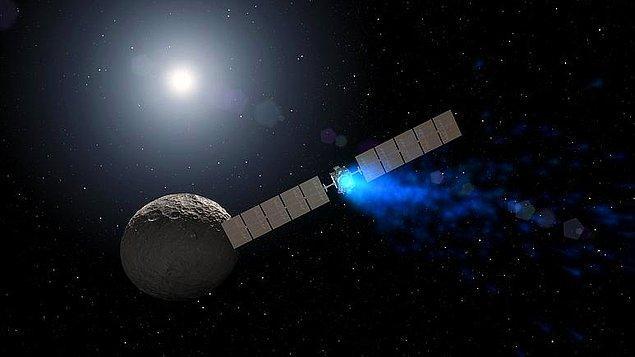 """NASA, 2022'de """"Psyche: Metal dünyasına yolculuk"""" adlı misyonu kapsamında sondaj çalışmalarına başlayacak."""