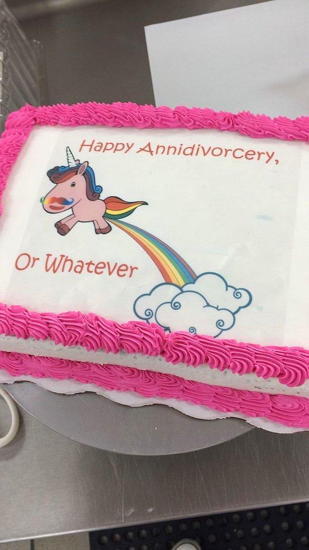 17. Yakın zamanda, doğum günü kutlamaları kadar boşanma kutlamaları da yaygınlaşacak gibi duruyor.