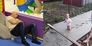 Çocuk Büyütmenin Yaşattığı Mutluluk Yanında Trajikomik Bir Durumu da Olduğunu Gözler Önüne Seren 22 Kare