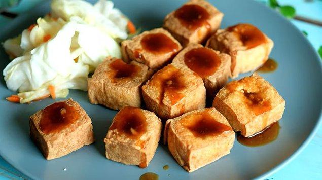 5. Kokulu tofu: