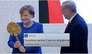 Erdoğan ile Her Görüşmesinde 'Gözleri Aşkla Gülen' Merkel'e Sosyal Medyadan Gelen Komik Tepkiler
