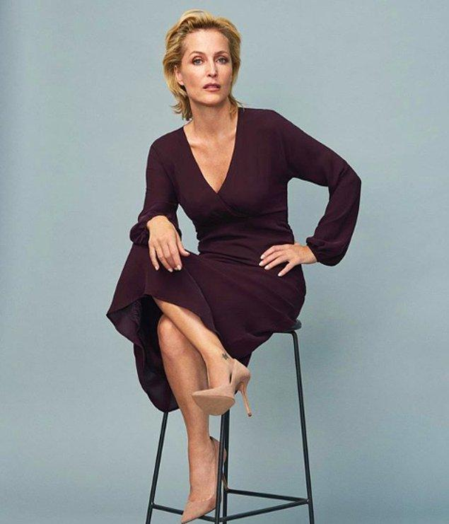 Gillian Anderson 1968'de Chicago'da doğmuş, Amerikalı bir kadın oyuncu.