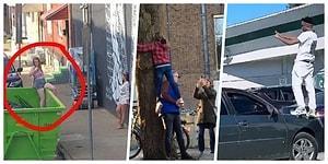 Instagram'ın Kölesi Olmuş Bu İnsanların Fotoğraf Çekmek İçin Gösterdikleri Çabayı Görünce Kısa Süreli Bir Şok Yaşayabilirsiniz!