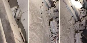 Elazığ'da Arama Kurtarma Çalışmalarını Sürdüren Mehmetçik Bir Anneye Ulaştı: 'Duyuyor musun Beni? Kurtaracaz Seni!'