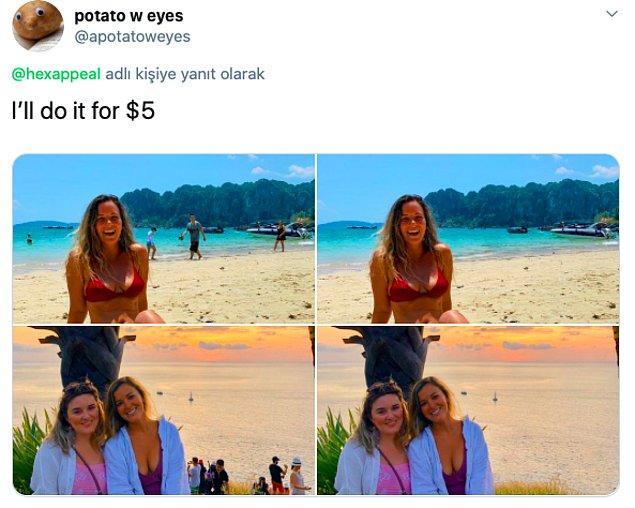 """""""Ben 5 dolara yaparım."""""""
