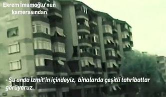 1999 Marmara Depremi Sonrası Gölcük'e Giden Ekrem İmamoğlu'nun Kaydettiği Görüntüler!