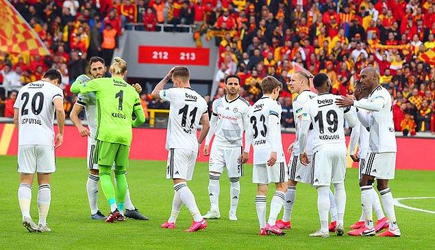 38.dakikada Beşiktaş penaltı golüyle durumu 1-1 yaptı.