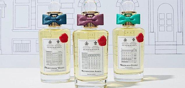 11. Penhaligon's: İngiliz kraliyet ailesinin efsane parfümleri buradan çıkıyor.