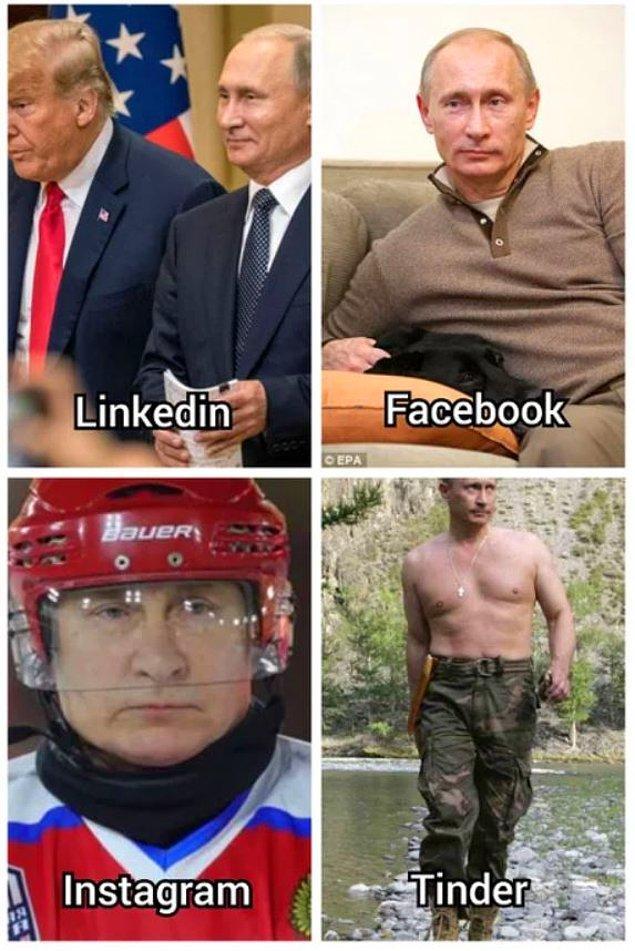 11. Sporcu Putin.