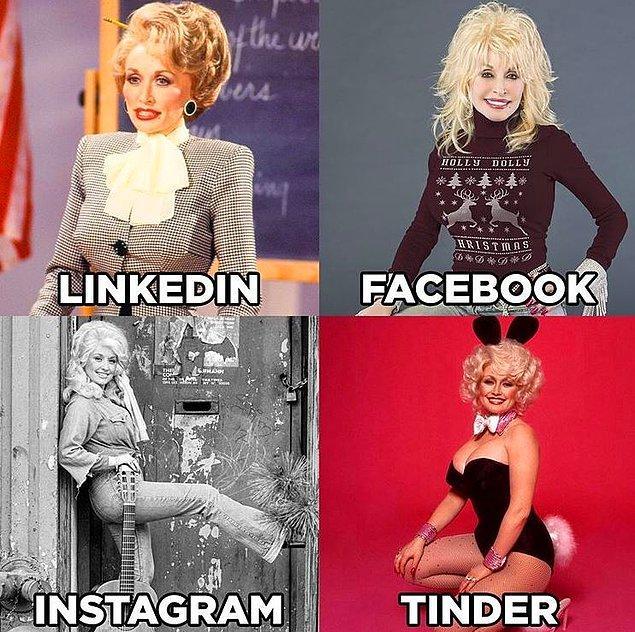 """""""Dolly Parton Challenge"""" akımı bu fotoğrafla başladı. :)"""