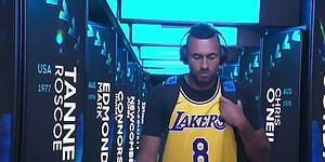 Nick Kyrgios, Rafael Nadal ile Oynayacağı Maça Kobe Bryant Formasıyla Çıktı!