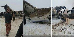 Afganistan'da Taliban Kontrolündeki Bölgeye Uçak Düştü
