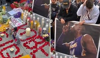 Helikopter Kazasında Hayatını Kaybeden Kobe Bryant ve Kızını Anmak İçin Bir Araya Gelen İnsanlar!