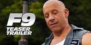Merakla Beklenen Fast & Furious 9 Filminde İlk Fragman Geldi!