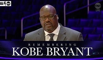 Shaquille O'Neal, Kobe Bryant'ı Anarken Gözyaşlarını Tutamadı!