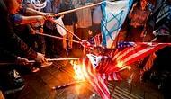 ABD ve İsrail Öfkesi Kazanca Dönüştü: İran'da 'Yakmalık Bayrak' Üretimi Arttı