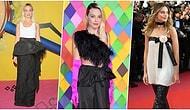 Kırmızı Halıda Tercih Ettiği Kıyafetlerle Herkesin Aklını Allak Bullak Eden Margot Robbie'nin Gözleri Kanatan Tarzı