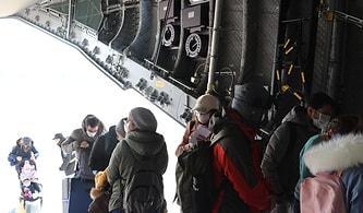 Askeri Kargo Uçağı 'Koca Yusuf' 42 Yolcusuyla Vuhan'dan Ayrıldı: '6 Kişi Dönmekten Kendi Rızasıyla Vazgeçti'