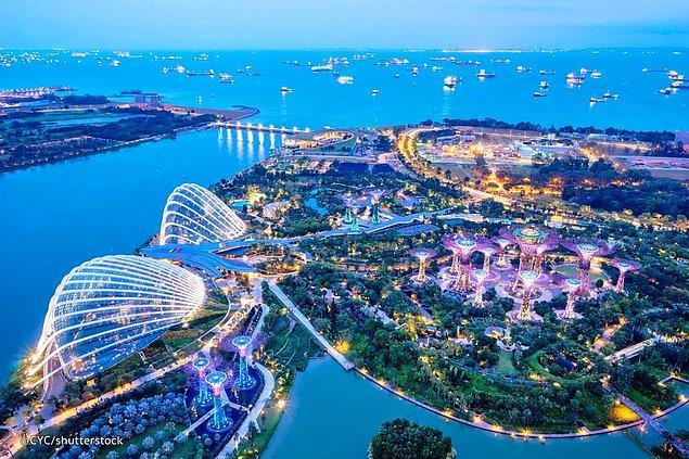 23. Singapur: 7,6 gün