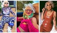 Tonton Babaanne Tabirini İlgi Çekici Giyim Tarzıyla Değiştiren 90 Yaşındaki Helen Van Winkle