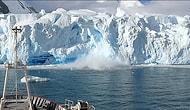 Buzullar Erimeye Devam Ediyor: Antarktika'da Dev Bir Kütle Ana Buzuldan Böyle Koptu!