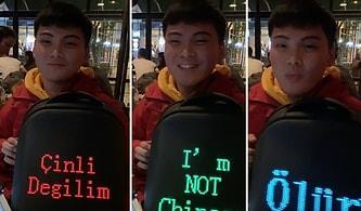 'Çinli Değilim' Yazılı Çantası ile Koronavirüsü Taşımadığını Dile Getiren ve Gündem Olan Cahit ile Tanışın!