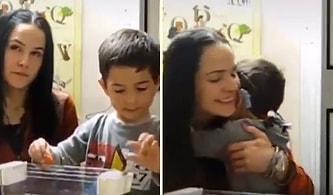 Başarılı Tedavi Süreci Sonunda İşitme Cihazı Test Edilen Çocuğun İlk Defa Sesleri Duyduğu O Anlar!