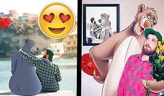 Yüzünüzde Kocaman Bir Gülümsemeye Yol Açacak Çizgi Karakterlerle Sarmaş Dolaş 15 Fotoğraf