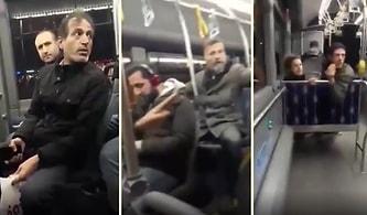 Otobüste Öpüşme Tartışması: 'Arabistan mı Burası?'