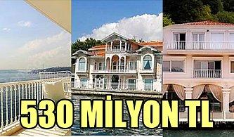 Piyangodan Büyük İkramiye Çıksa Bile Paranızın Yetmeyeceği Türkiye'nin En Pahalı Konutları