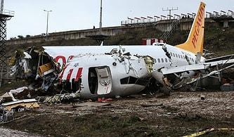 Sabiha Gökçen'de Pistten Çıkan Uçağın Yardımcı Pilotu: 'Kuleden İnmeyin Diye Bir Uyarı Almadık'