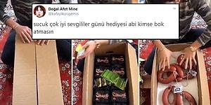 'Ramazan Kolisi' Gibi Sevgililer Günü Kolisi Hazırlayan İnsanlardan İzlerken Kilo Aldıracak İlginç TikTok Akımı!