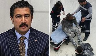 AKP'li Cahit Özkan'dan Kendisini Yakan Adem Yarıcı Açıklaması: 'Psikolojik Rahatsızlığı Vardı, Eşini Dövüyordu'