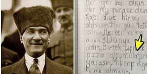 """Atatürk Yaşasın! """"Nasıl Bir Dünya İstiyorsunuz?"""" Sorusuna Cin Fikirli Çocukların Verdiği Birbirinden Güzel Cevaplar"""