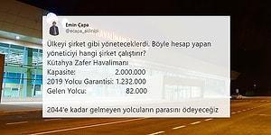 'Garanti Yolcular' Yine Gelmedi: Hazine, Kütahya'daki Havalimanı İçin 205 Milyon Euro Ödeyecek