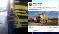 Elazığ Depremi İçin 'Ücretsiz Yardım Taşımaya Hazırım' Demişti: Konya'da Bir TIR Şoförü İntihar Etti