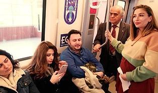 Ankara Büyükşehir Belediyesi'nden 'Metroda Nezaket Kuralları' Videosu!