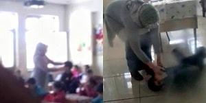 İlkokul Öğrencilerini Tokatladı, Yerde Sürükledi: Görüntüler Basına Yansıyınca Görevden Alındı