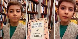 5 Ayda 250 Kitap Bitiren 10 Yaşındaki Atakan'ın Kitap Sevgisine ve Felsefe'ye Olan İlgisine Hayran Kalacaksınız!