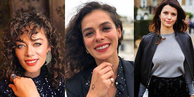 En beğenilen kadın oyuncular da sırasıyla Demet Evgar, Özge Özpirinçci ve Beren Saat seçildi.