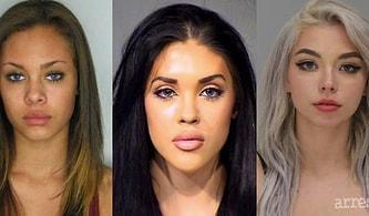 Sabıka Fotoğraflarıyla İnternette Fenomen Olan Güzel ama Kriminal Kadınlar ve Suçları