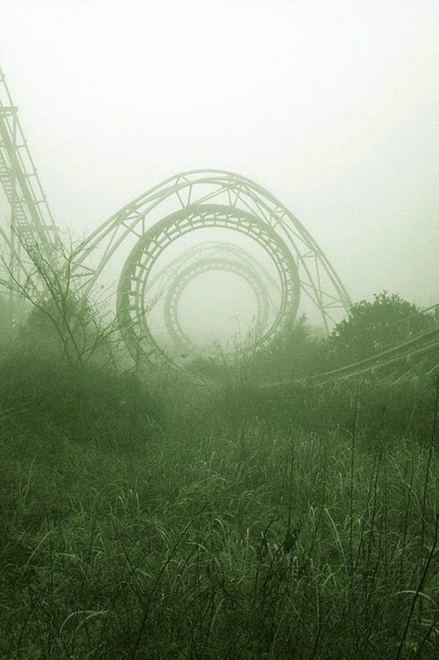 19. Japonya'da terk edilmiş bir tema parkı: