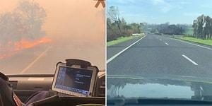 Avustralya'da Meydana Gelen Orman Yangını Sırasında ve Sonrasında Kaydedilen Görüntüler!