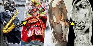 Dünyaca Ünlü Heykelleri Bilinmeyen Özellikleri İle Farklı Bir Açıdan Gösterecek 12 Gerçek