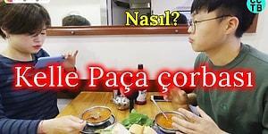 İlk Defa Kelle Paça Çorbası İçen Korelilerin Tepkileri!
