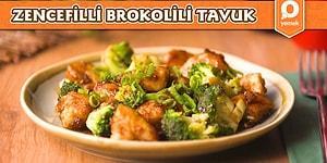 Farklı Lezzetler Arayanlara Nefis Bir Öneri: Zencefilli Brokolili Tavuk! Zencefilli Brokolili Tavuk Nasıl Yapılır?