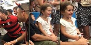 Metro Yolculukları Sırasında Eğlencelerine Küçük Bir Kızı da Alet Eden İnsanlardan Efsane Anlar!