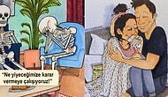 İlişkilerin Gündelik Halini ve Birlikte Var Olmanın Güzelliğini Anlatan 17 Tatlış Çizim